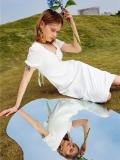 魯思蒂LUCIDY 21夏 品牌折扣女裝尾貨批發