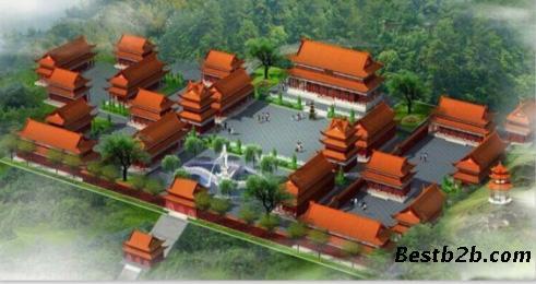 古建寺院设计,古建筑设计公司