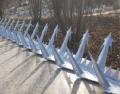 防盜鍍鋅刺釘 小區別墅護欄外墻防爬防盜刺釘
