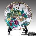 陶瓷工藝品 擺件 裝飾品盤子定制印logo