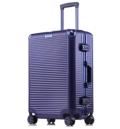 方振箱包工廠生產定制PC鋁框拉桿箱萬向輪旅行箱密碼箱