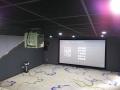 *小型3d影院電影放映設備+消防大隊紅門影院設備建設施工圖紙
