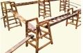 幼兒園組合攀登架 戶外大型碳燒積木 可凡戶外大型碳燒