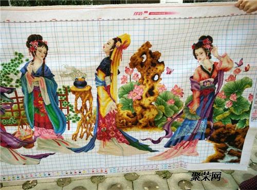 十二金钗十字绣拍卖直接交易的公司