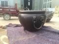 鑄銅缸工藝品 鑄銅缸鑄造廠 公園1米銅缸