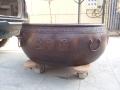 太平缸訂做 鑄銅大缸 歐式銅花盆 銅聚寶盆鑄造