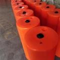 攔污用整套產品設備出售水面雜物圍欄塑料浮柵批發