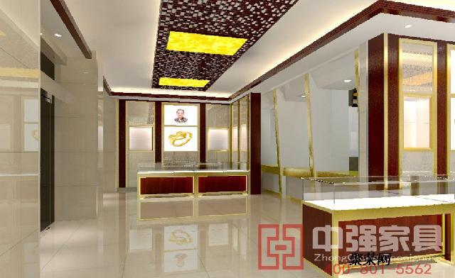 供应泰州珠宝展示柜台设计制作