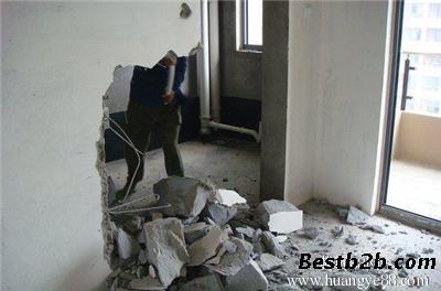 石家庄专业室内地面拆除