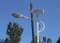 滄州6米太陽能路燈農村安裝配置