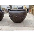大銅缸定制 河北鑄銅 現貨1.2米銅缸