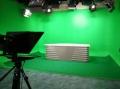 高清演播室藍箱裝修 校園導播直播間燈光建設