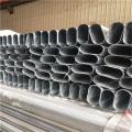 鋅鋼護欄用鍍鋅平橢圓管生產廠家