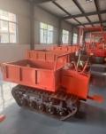 全地形工程履帶運輸車 后驅8噸自卸翻斗車 高速履帶車