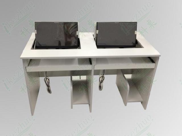 双人电脑桌设计图展示