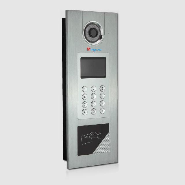 丹东楼宇对讲报价阜新小区电话可视对讲门锁门铃系统
