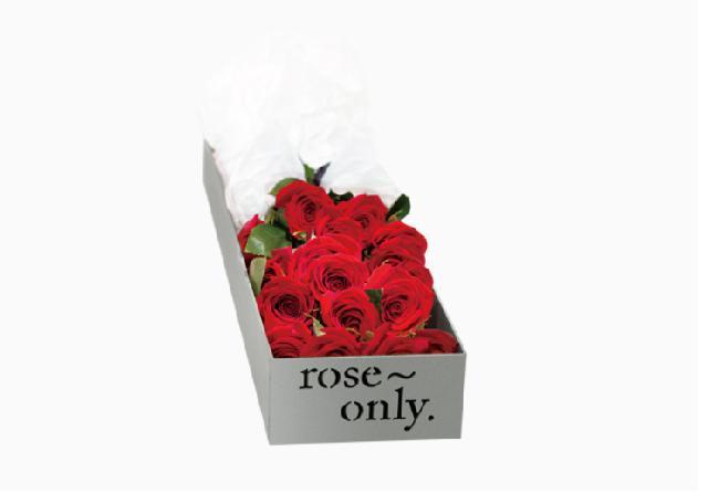 这种巨型玫瑰既有深红色品种,也有花瓣带血色纹路