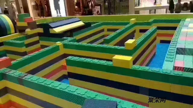 大型乐高积木乐园海洋球儿童乐园展览出租出售