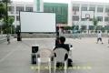 *惠影露天农村流动0.8K£¨一体机£©数字电影放映机