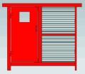 葉扇調節風窗,煤礦用插板式調節風窗,百葉窗式調節風窗