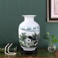 陶瓷禮品定制青花瓷茶葉罐茶餅罐陶瓷影像盤陶瓷工藝花瓶