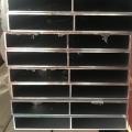 鋁合金日字型方管加工木紋開模一上海至律鋁業