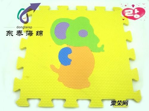儿童拼图地垫动物图案拼图地垫
