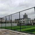 现货供应 篮球场护栏网 体育场围网 球场勾花浸塑围网