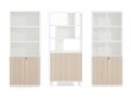 簡約現代多功能文件柜款式多樣支持定制廣州盛源家具