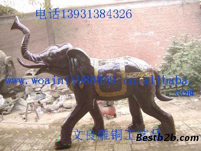 景观大型动物雕塑大象雕塑