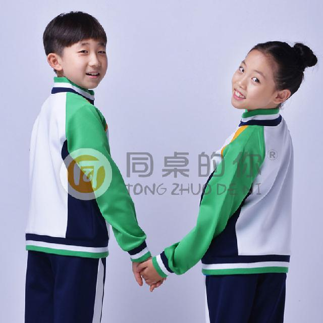 小学生校服厂家定做 个性校服高端定制 校服设计图片