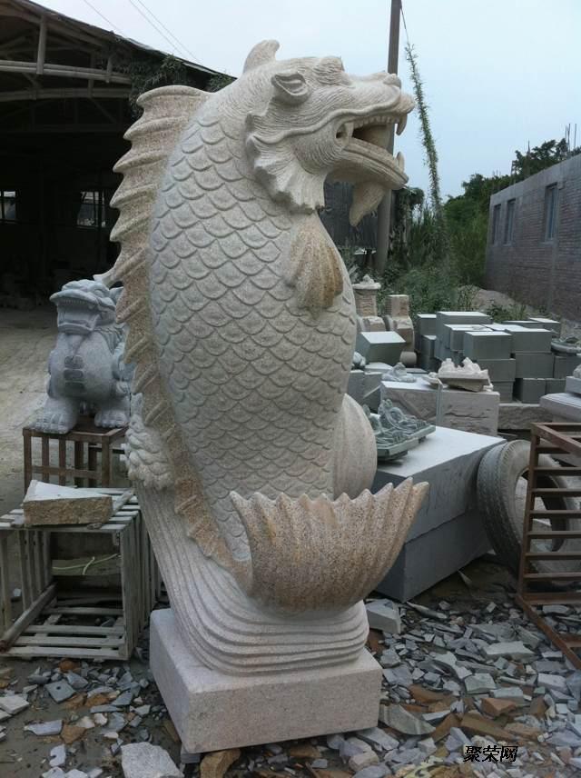 石雕动物雕塑园林摆件制作