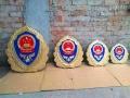 高品質長久不褪色消防徽制作