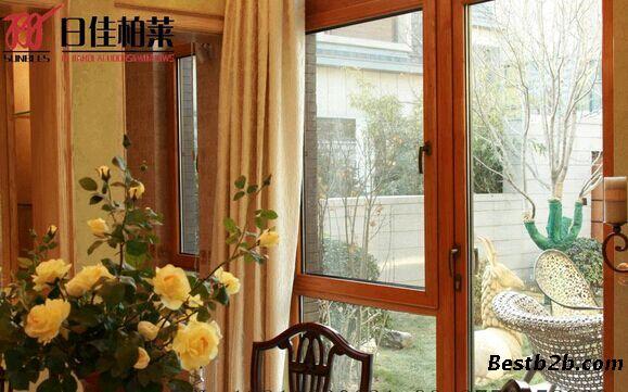 欧式纯实木,铝包木系列门窗