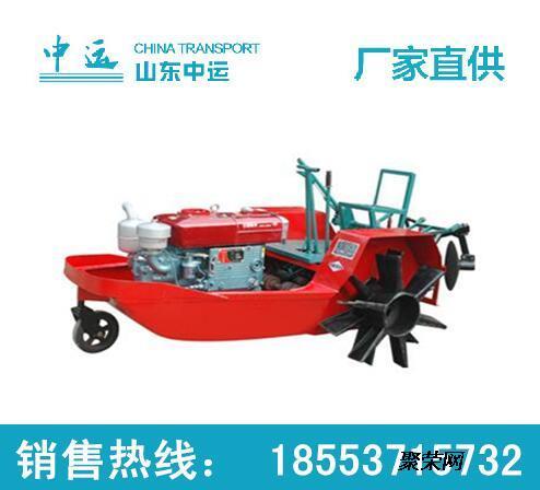 中运供应船式拖拉机 高效机耕船参数报价图片