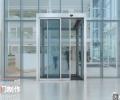 西安承接各種玻璃門設計安裝