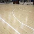 山东生产厂家销售枫木运动木地板 安装免费划线 篮球场木地板市