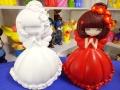 广西石膏娃娃模具,石膏涂鸦模具diy