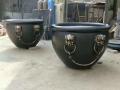 純銅大缸擺件 仿古宮門大缸 青銅缸庭院大銅缸