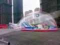 透明鯨魚島百萬海洋球池生產廠家