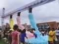楼盘派对喷射泡沫机活动彩色泡泡趴商业活动泡沫机