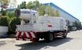 抗击疫情我们在行动国六东风12吨绿化消毒喷洒车