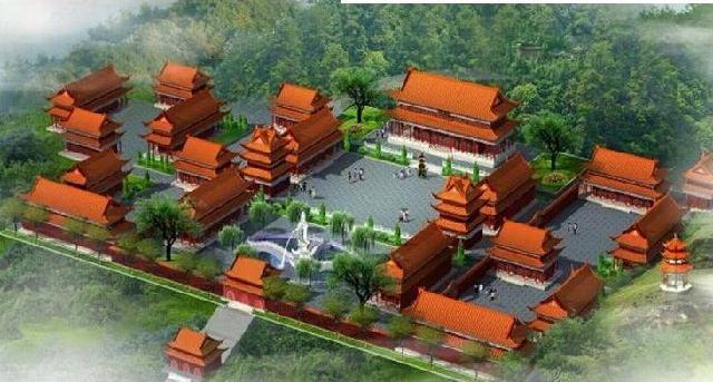 各类风景区,公园,庭院,寺庙,祠堂,道观,广场,陵园等仿古建筑工程规划