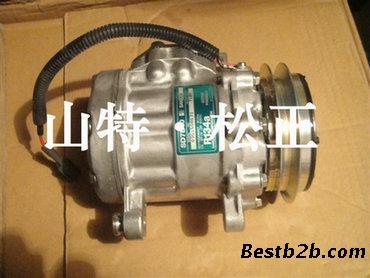 原厂小松pc60-7压缩机空调压缩机