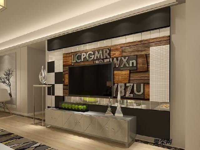 客厅电视背景墙 集成墙面 西部牛仔 电视墙 厂家包邮图片