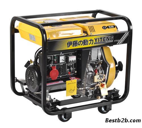 伊藤发电机yt6800e3三相5kw发电机