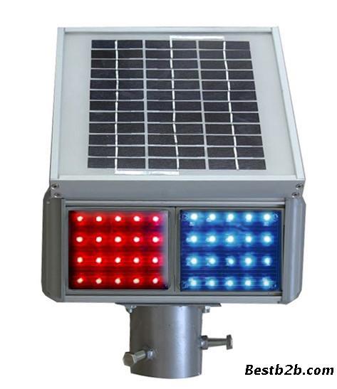 我们公司的太阳能爆闪灯