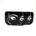 工廠定制高檔睫毛盒三對裝假睫毛收納盒