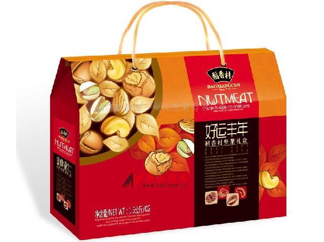 干果礼盒包装