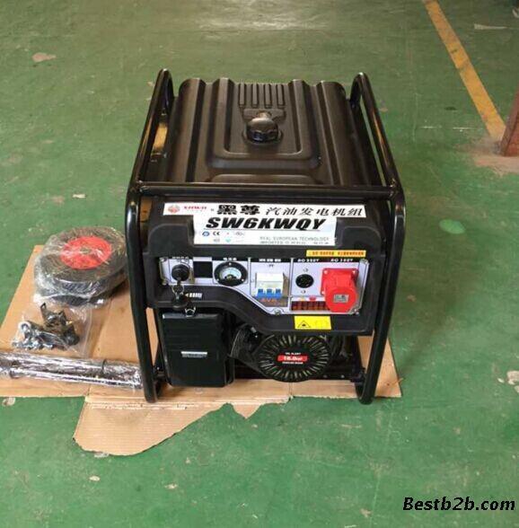 6kw汽油发电机带冰箱发电机组